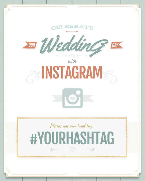 free wedding hashtag generator ewedding Wedding Hashtags Letter M view and download a premium poster with wedding hashtags letter t