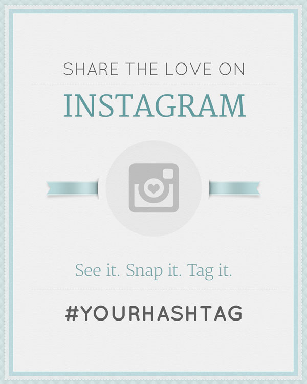 Free Wedding Hashtag Generator Ewedding